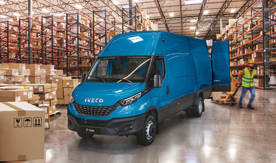 IVECO Daily w wersji 7 tonowej nagrodzony tytułem samochodu ciężarowego roku