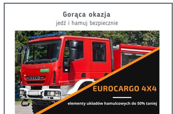 EUROCARGO 4x4 hamulce